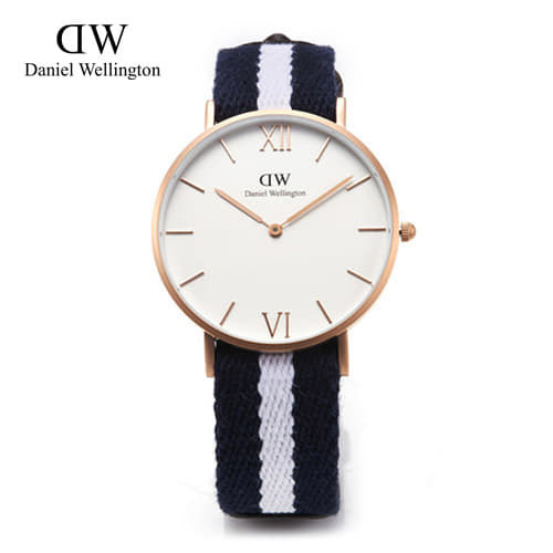 8월-) [다니엘 웰링턴시계 DANIEL WELLINGTON] 0552DW / 36mm 그레이스 글래시고 GRACE GLASGOW SAND BLASTED ROSEGOLD