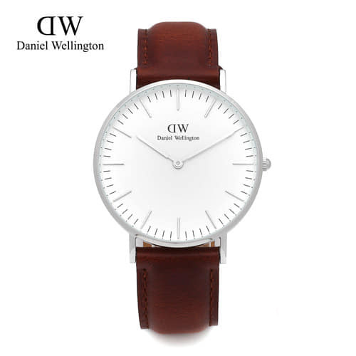 [다니엘 웰링턴시계 DANIEL WELLINGTON] 0607DW / 36mm CLASSIC ST ANDREWS LADY SILVER