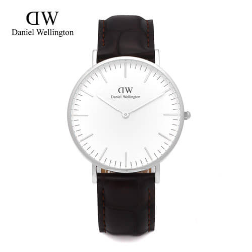[다니엘 웰링턴시계 DANIEL WELLINGTON] 0610DW / 36mm CLASSIC YORK LADY SILVER