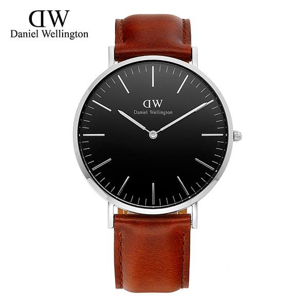 [다니엘 웰링턴시계 DANIEL WELLINGTON] DW00100130 / 40mm 클래식 블랙 세인트머스 Classic Black St Mawes