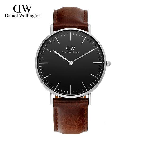 [다니엘 웰링턴시계 DANIEL WELLINGTON] DW00100143 / 36mm 클래식 블랙 브리스톨 Classic Black Bristol