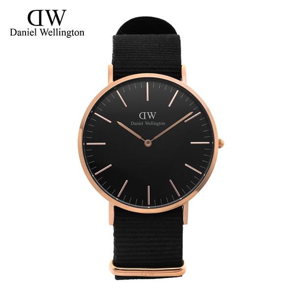 9월-) [다니엘 웰링턴시계 DANIEL WELLINGTON] DW00100148 / 40mm 클래식 블랙 콘월 Classic Black Cornwall