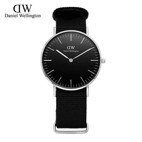 9월-) [다니엘 웰링턴시계 DANIEL WELLINGTON] DW00100151 / 36mm 클래식 블랙 콘월 Classic Black Cornwall