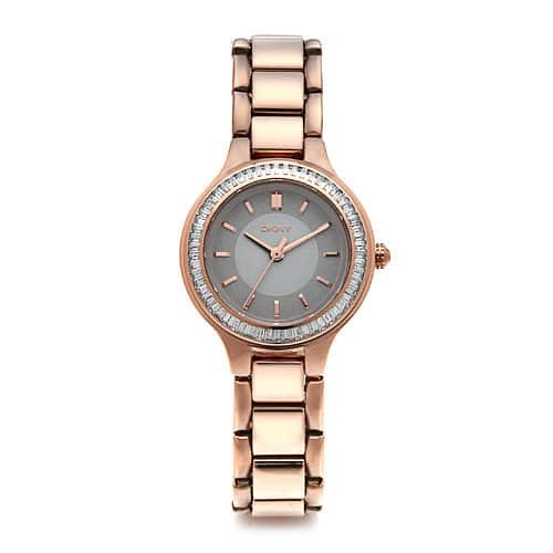 [도나카란뉴욕시계 DKNY] NY2393 / CHAMBERS 여성 로즈골드 메탈시계 28mm