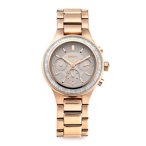 [도나카란뉴욕시계 DKNY] NY2396 / CHAMBERS 크로노그래프 여성용 로즈골드 메탈시계 38mm