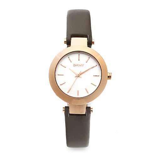 [도나카란뉴욕시계 DKNY] NY2408 / STANHOPE 여성용 로즈골드 가죽시계 28mm