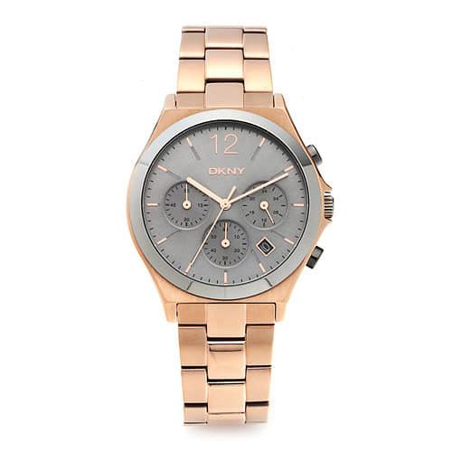 [도나카란뉴욕시계 DKNY] NY2453 / PARSONS 크로노그래프 여성용 로즈골드 메탈시계 37mm