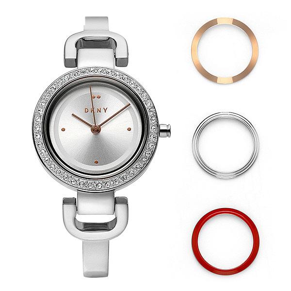 [도나카란뉴욕시계 DKNY] NY2861 / City Link 베젤 세트 여성용 메탈시계 26mm 타임메카