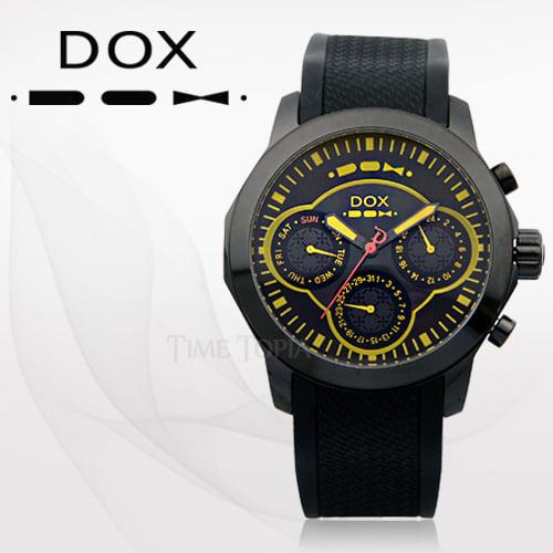 [독스시계 DOX] DX634YEBK 타임메카 단독할인 수량 딱 10개!!
