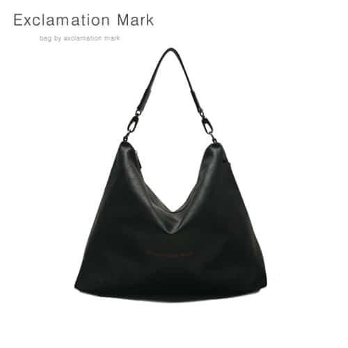 [익스클라메이션마크 ExclamationMark] E001-black / CROSS BAG