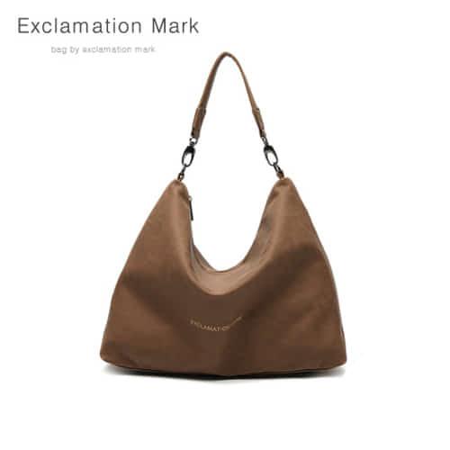 [익스클라메이션마크 ExclamationMark] E001-darkbrown / CROSS BAG