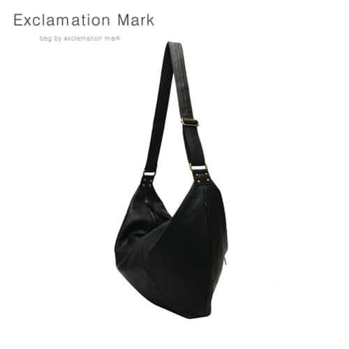 [익스클라메이션마크 ExclamationMark] E003-black / CROSS BAG
