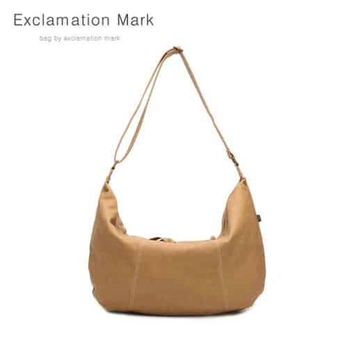 [익스클라메이션마크 ExclamationMark] E003-brown / CROSS BAG
