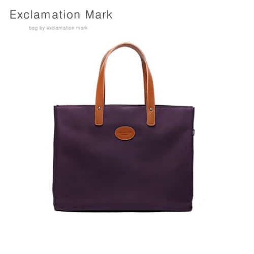 [익스클라메이션마크 ExclamationMark] E007-purple / TOTE BAG