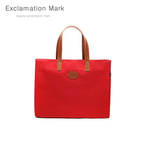 [익스클라메이션마크 ExclamationMark] E007-red / TOTE BAG