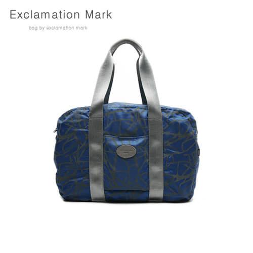 [익스클라메이션마크 ExclamationMark] E009-blue / CROSS BAG / TOTE BAG