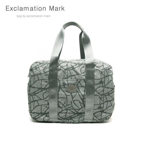 [익스클라메이션마크 ExclamationMark] E009-gray / CROSS BAG / TOTE BAG