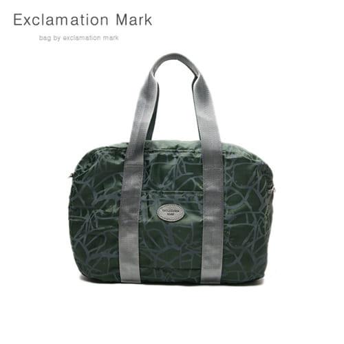 [익스클라메이션마크 ExclamationMark] E009-green / CROSS BAG / TOTE BAG