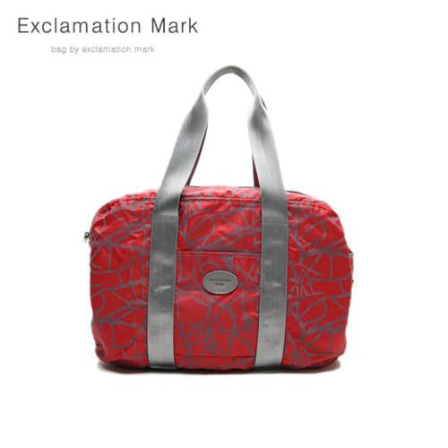 [익스클라메이션마크 ExclamationMark] E009-red / CROSS BAG / TOTE BAG