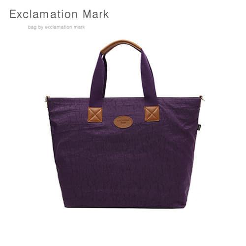 [익스클라메이션마크 ExclamationMark] E010-purple / CROSS BAG / TOTE BAG