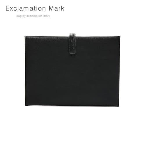 [익스클라메이션마크 ExclamationMark] E012-black / CLUTCH BAG
