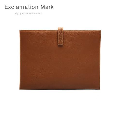 [익스클라메이션마크 ExclamationMark] E012-brown / CLUTCH BAG