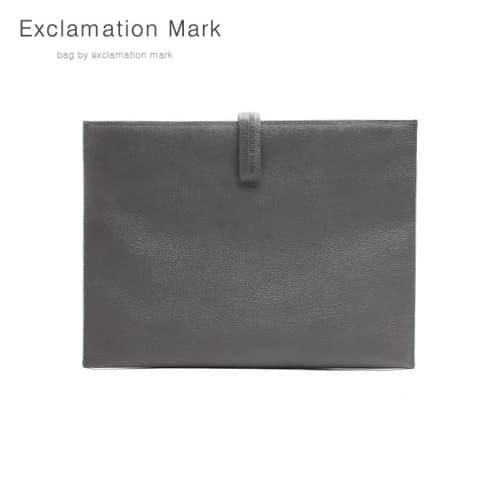 [익스클라메이션마크 ExclamationMark] E012-gray / CLUTCH BAG