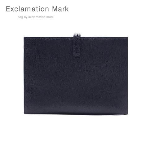 [익스클라메이션마크 ExclamationMark] E012-navy / CLUTCH BAG