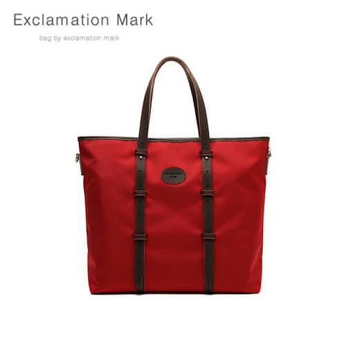 [익스클라메이션마크 ExclamationMark] E013-red / TOTE BAG