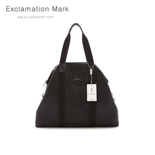 [익스클라메이션마크 ExclamationMark] E015NEW-black / CROSS BAG / TOTE BAG