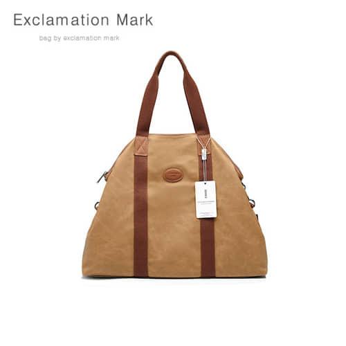 [익스클라메이션마크 ExclamationMark] E015NEW-brown / CROSS BAG / TOTE BAG