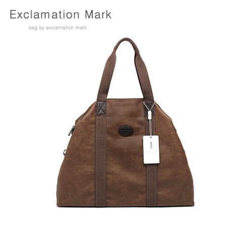 [익스클라메이션마크 ExclamationMark] E015NEW-darkbrown / CROSS BAG / TOTE BAG