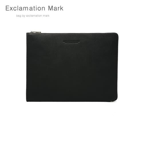 [익스클라메이션마크 ExclamationMark] E016-black / CLUTCH BAG