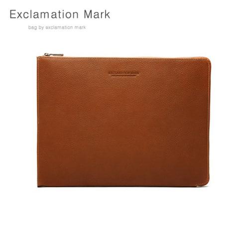 [익스클라메이션마크 ExclamationMark] E016-brown / CLUTCH BAG