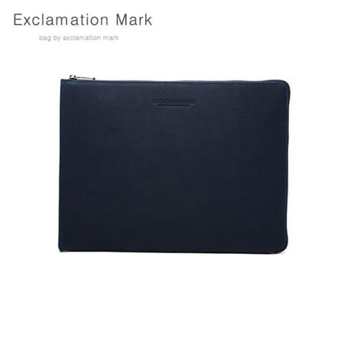 [익스클라메이션마크 ExclamationMark] E016-navy / CLUTCH BAG
