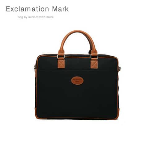 [익스클라메이션마크 ExclamationMark] E021-black / CROSS BAG / TOTE BAG