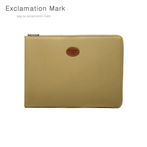 [익스클라메이션마크 ExclamationMark] E023BE 17 inch / CLUTCH BAG