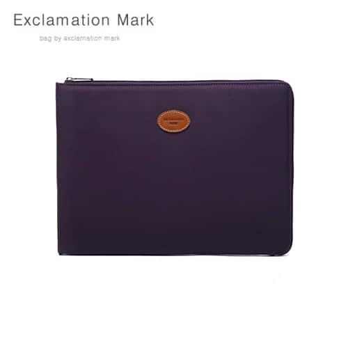 [익스클라메이션마크 ExclamationMark] E023PU 17 inch / CLUTCH BAG