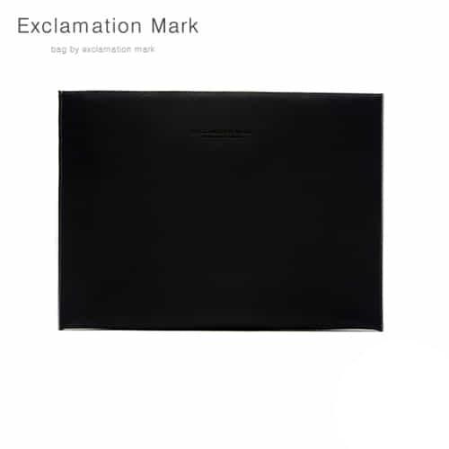 [익스클라메이션마크 ExclamationMark] E026-black / CLUTCH BAG