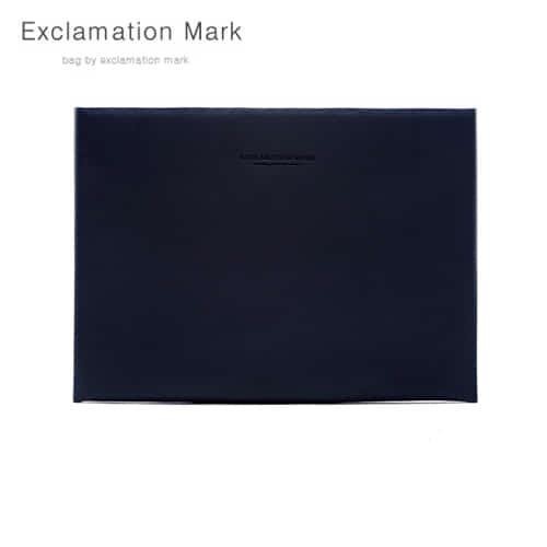 [익스클라메이션마크 ExclamationMark] E026-navy / CLUTCH BAG