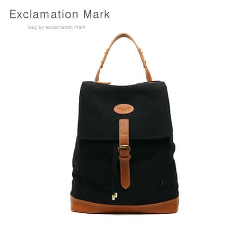 [익스클라메이션마크 ExclamationMark] E032-black / BACKPACK