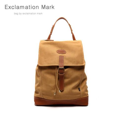 [익스클라메이션마크 ExclamationMark] E032-brown / BACKPACK