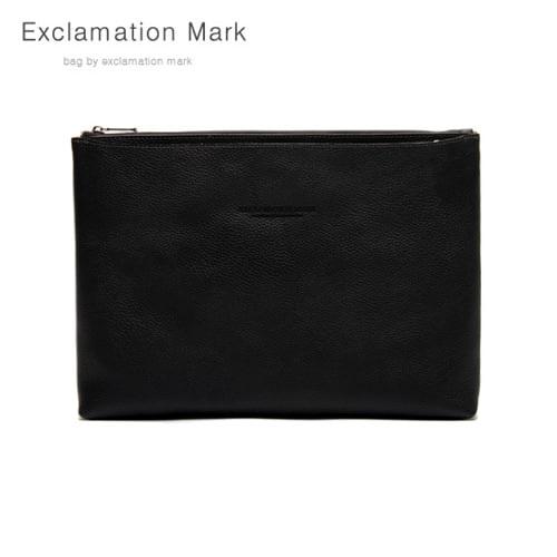 [익스클라메이션마크 ExclamationMark] E039-black / CLUTCH BAG