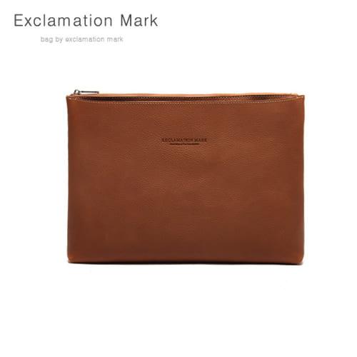 [익스클라메이션마크 ExclamationMark] E039-brown / CLUTCH BAG
