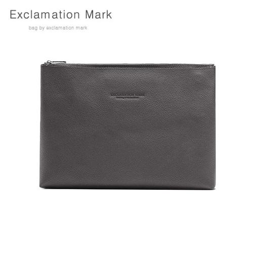 [익스클라메이션마크 ExclamationMark] E039-gray / CLUTCH BAG