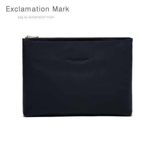 [익스클라메이션마크 ExclamationMark] E039-navy / CLUTCH BAG
