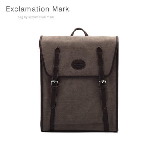 [익스클라메이션마크 ExclamationMark] E041-brown / BACKPACK