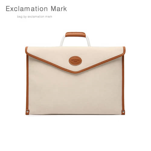 [익스클라메이션마크 ExclamationMark] E042-beige / CLUTCH BAG
