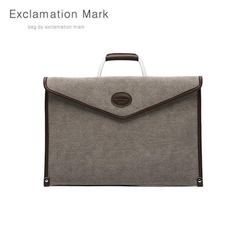 [익스클라메이션마크 ExclamationMark] E042-gray / CLUTCH BAG