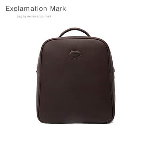 [익스클라메이션마크 ExclamationMark] E044-darkbrown / BACKPACK